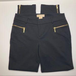 Michael Kors Black Pants with Sleek Hardware